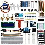 OSOYOO Raspberry Pi 3 DIY Starter learning Lab Kit For Beginners (20 items)