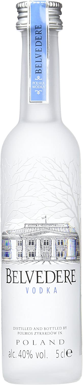 Botellita Miniatura Vodka Belvedere 5l