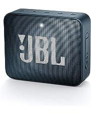 JBL GO 2 - Mini Enceinte Bluetooth portable - Étanche pour piscine & plage IPX7 - Autonomie 5hrs - Qualité audio JBL - Bleu Foncé