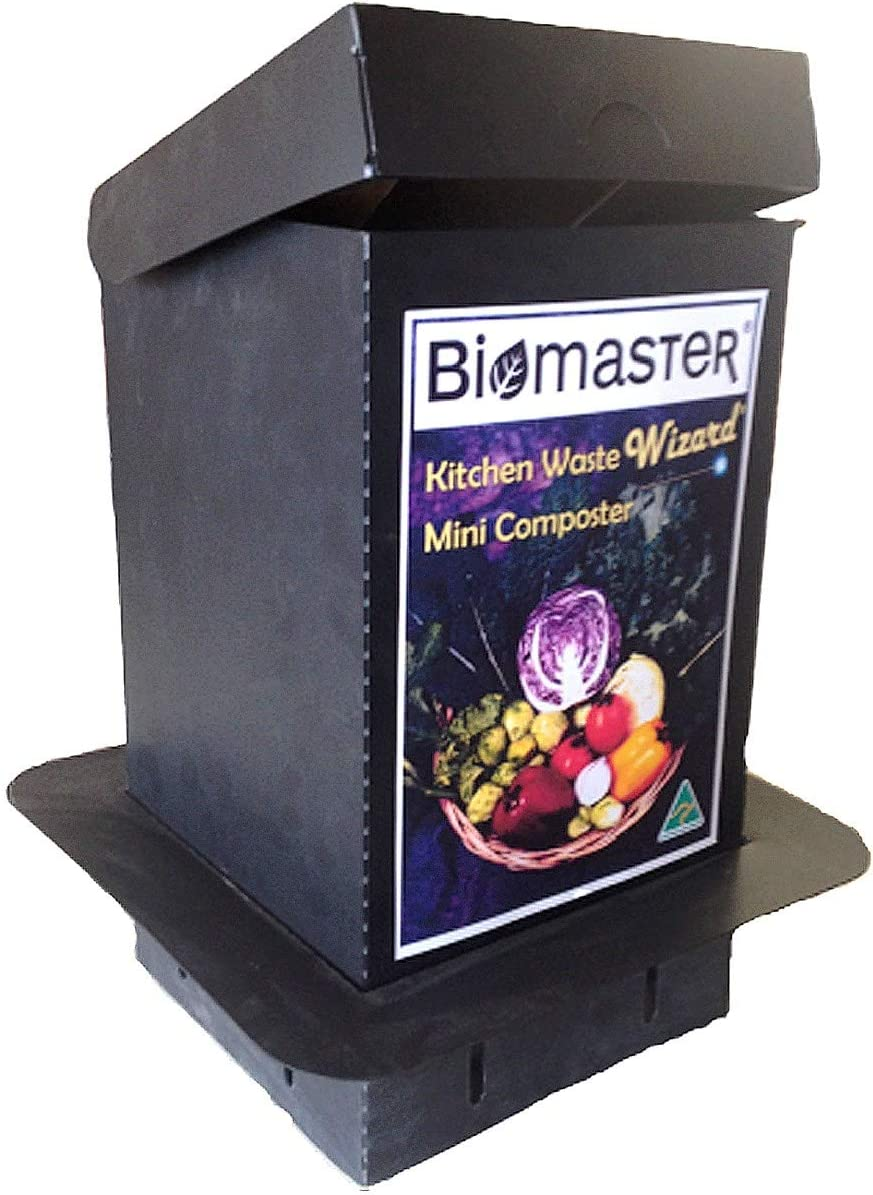 Biomaster Kitchen Waste Wizard - Mini compostador (100% Material ...