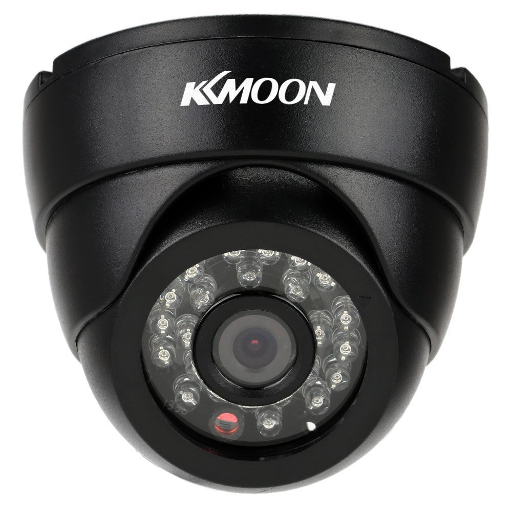 "KKmoon 1/3"" 700Tvl 960H Sony CCD Effio4140 + 673 with 24 IR Lens Security Surveillance Cctv Camera Had Ir Cut 2.8mm Lens High Resolution Outdoor Weatherproof CCTV Camera Home Surveillance PAL System"