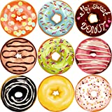 Donut Perforated Roll Stickers for Kids 200pcs Birthday Party Supplies School Reward Sticker