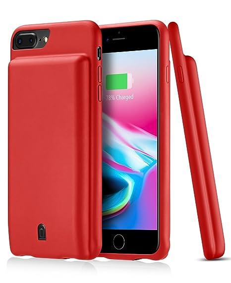 1ff848ad734 Omicton - Funda para iPhone 8 Plus y 7 Plus (5,5 pulgadas, capacidad ...