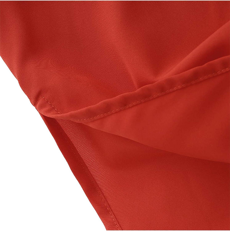 CNFIO Sommerkleid Damen Elegant Kleider V-Ausschnitt /Ärmellos Einfarbig Shirt Design Kurz Blusenkleid Minikleid Strand Kleider