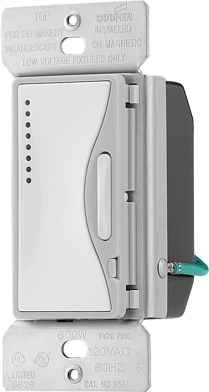 Eaton ASPIRE 9534WS Smart Dimmer 600W - Wall Dimmer Switches - Amazon.com
