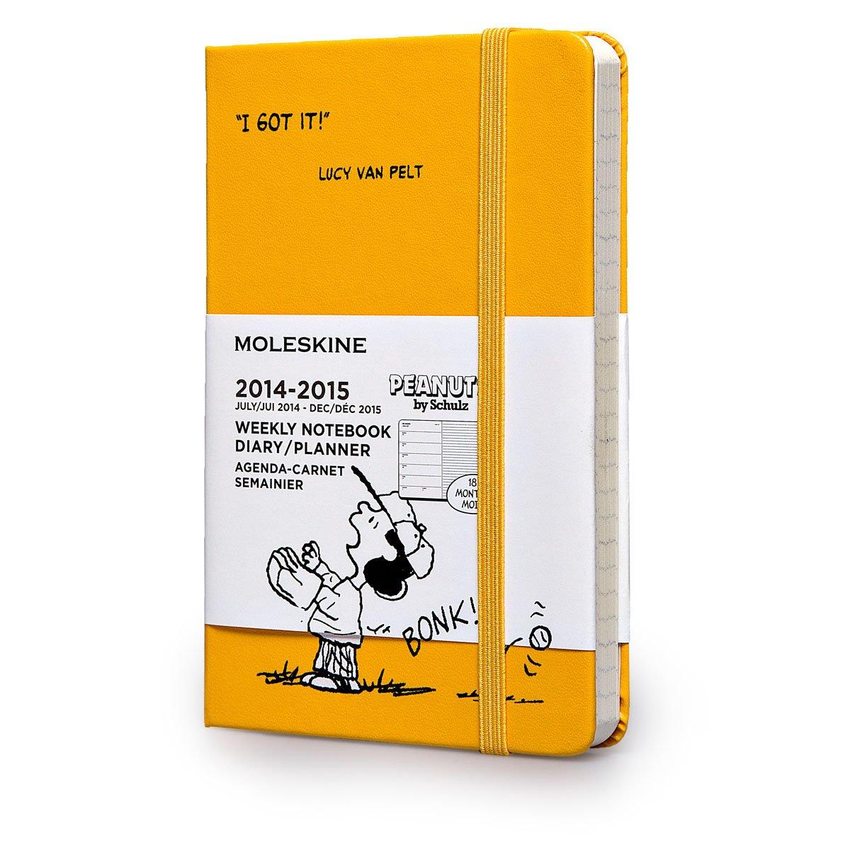 Moleskine Agenda Semanal Snoopy. Tamaño de bolsillo. 2014 ...