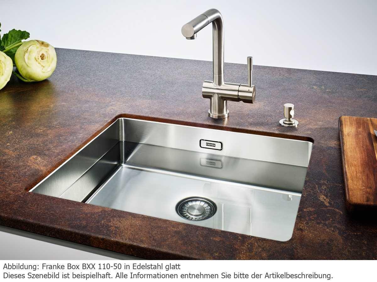 Franke Box BXX 110-50 acero inoxidable-el fregadero de la cubierta de la parte inferior de la piscina de cocina fregadero grifo: Amazon.es: Bricolaje y ...