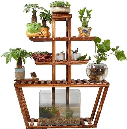 estantes para plantas / estanteria jardin Decoración interior / al aire libre del jardín de flores del jardín