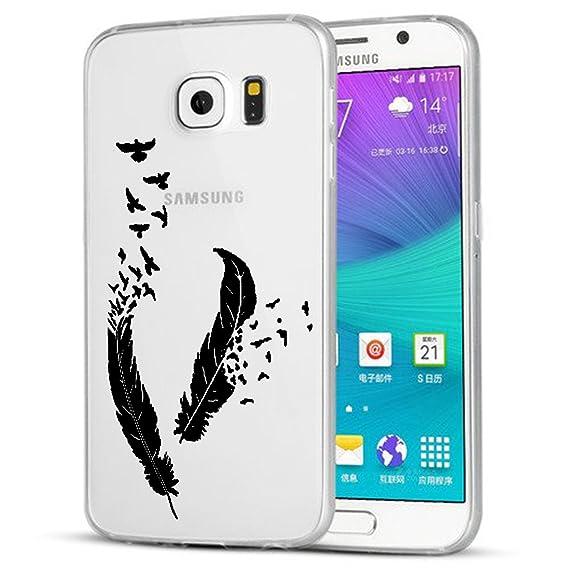 Caler Funda Galaxy S7 Edge, Carcasa S7 Edge Silicona ...