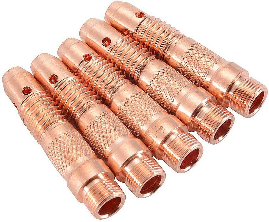 Metallic Release Collet 89105-04-02 Pkg Qty 5 Pack Of 3 1//4 Tube x 1//8 NPTF Female AIGNEP Female Elbow