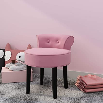 Pink Dressing table chair