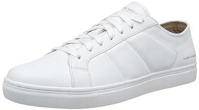 00c3fc5e1def Skechers Men s Venice Low-Top Sneakers White Size  7  Amazon.co.uk ...