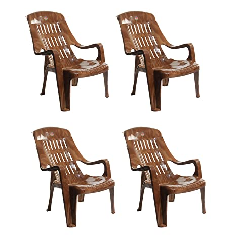 Outstanding Cello Comfort Sit Set Of 4 Chairs Sandalwood Brown Cjindustries Chair Design For Home Cjindustriesco