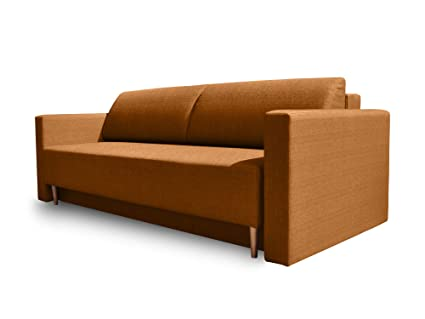 Amazon.com: TevaHome Apricot Dublin Sofa Bed Sleeper ...