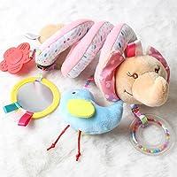 BOBORA Juguetes Colgantes Espiral Juguetes Cochecito para Bebés