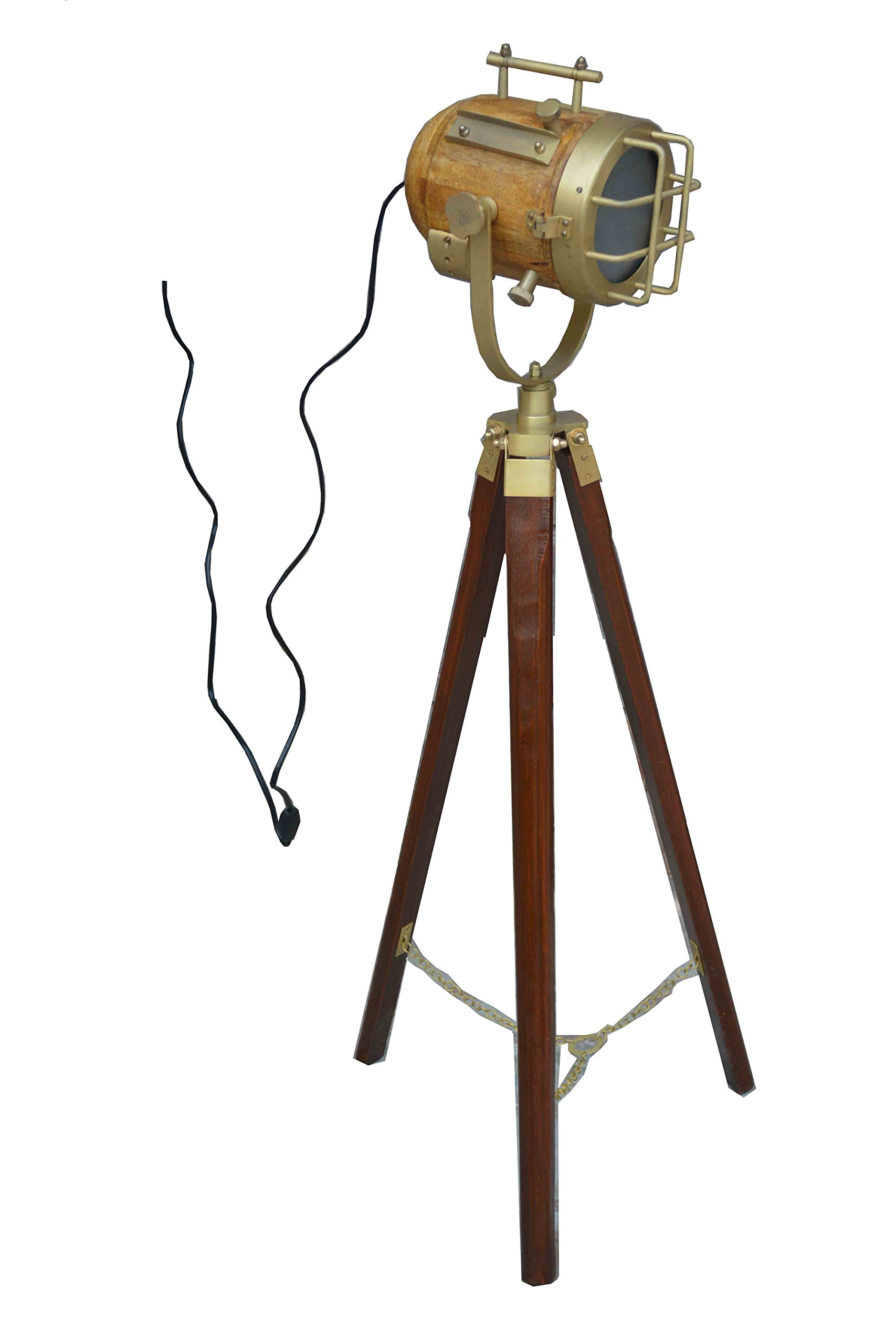 Vintage Designer light Searchlight Modern Look Floor Lamp With Tripod Stand