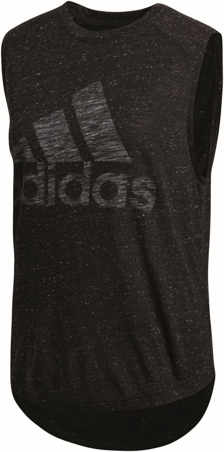 Adidas Women Tank Athletics ID Winners Sleeveless Tee Training Fitness BQ9521