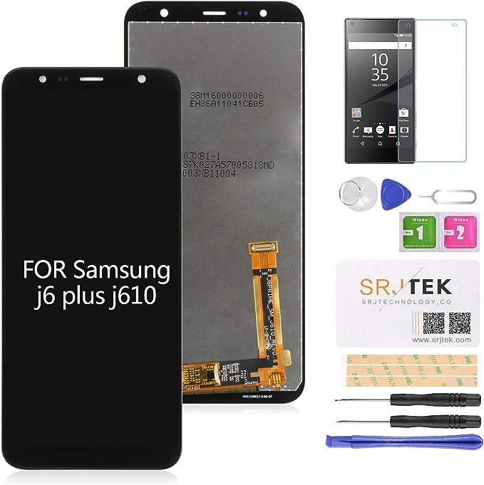 para Samsung J6 + Plus Pantalla de reemplazo Pantalla LCD Touch ...