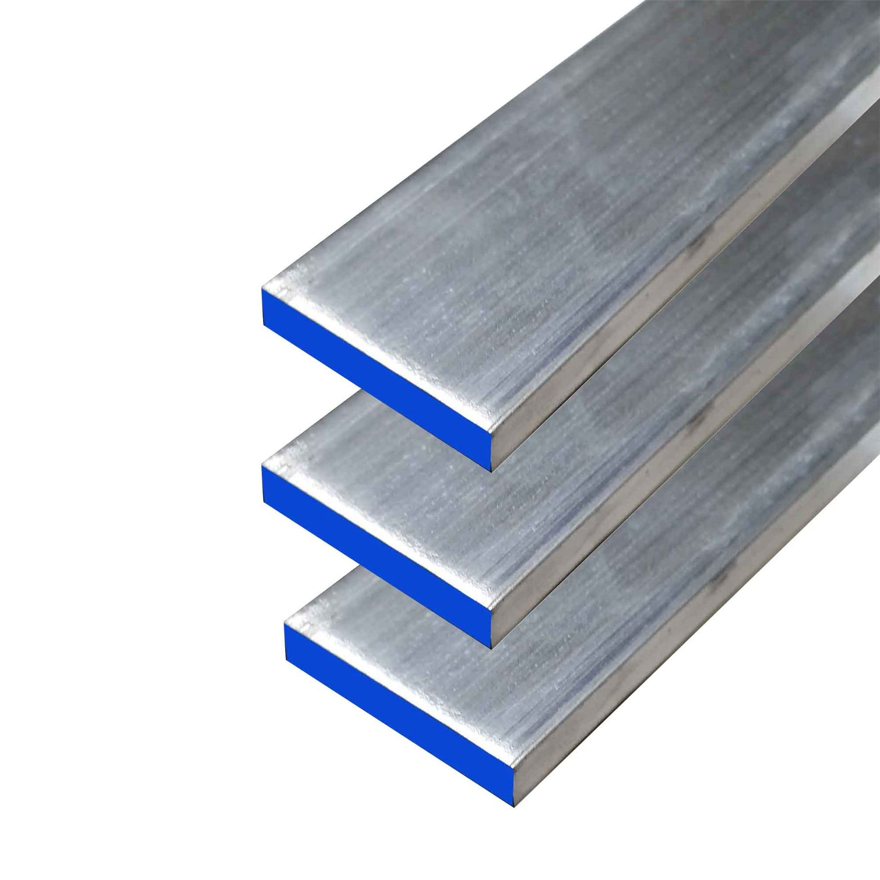 Online Metal Supply 6061 Aluminum Rectangle Bar, 1/4'' x 1-1/4'' x 48'' (3 Pack) by Online Metal Supply