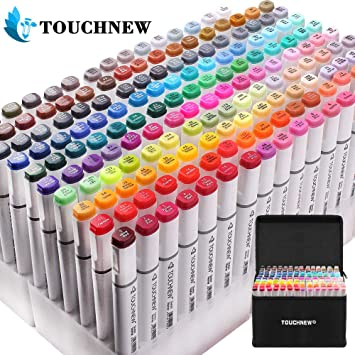 30Color Painting Marker Pen Oily Based Ink Art Pen Dual Headed Sketch Markers