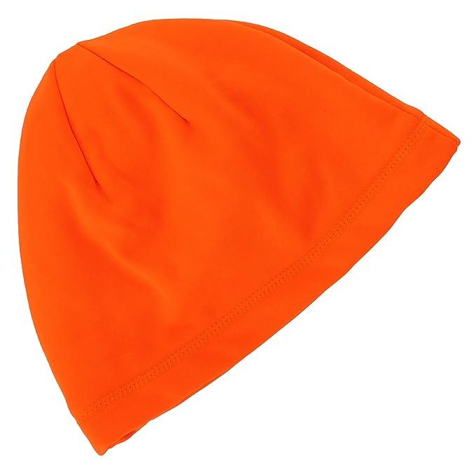 Tek Gear Blaze Orange Compression Hunting Beanie for Men at Amazon ... 1ed2360234d