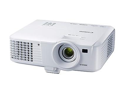 Canon LV-X320 - Proyector portátil (XGA 1.024 x 768 píxeles, 3.200 lúmenes, 10.000:1, DLP, Altavoz de 10 W) Blanco