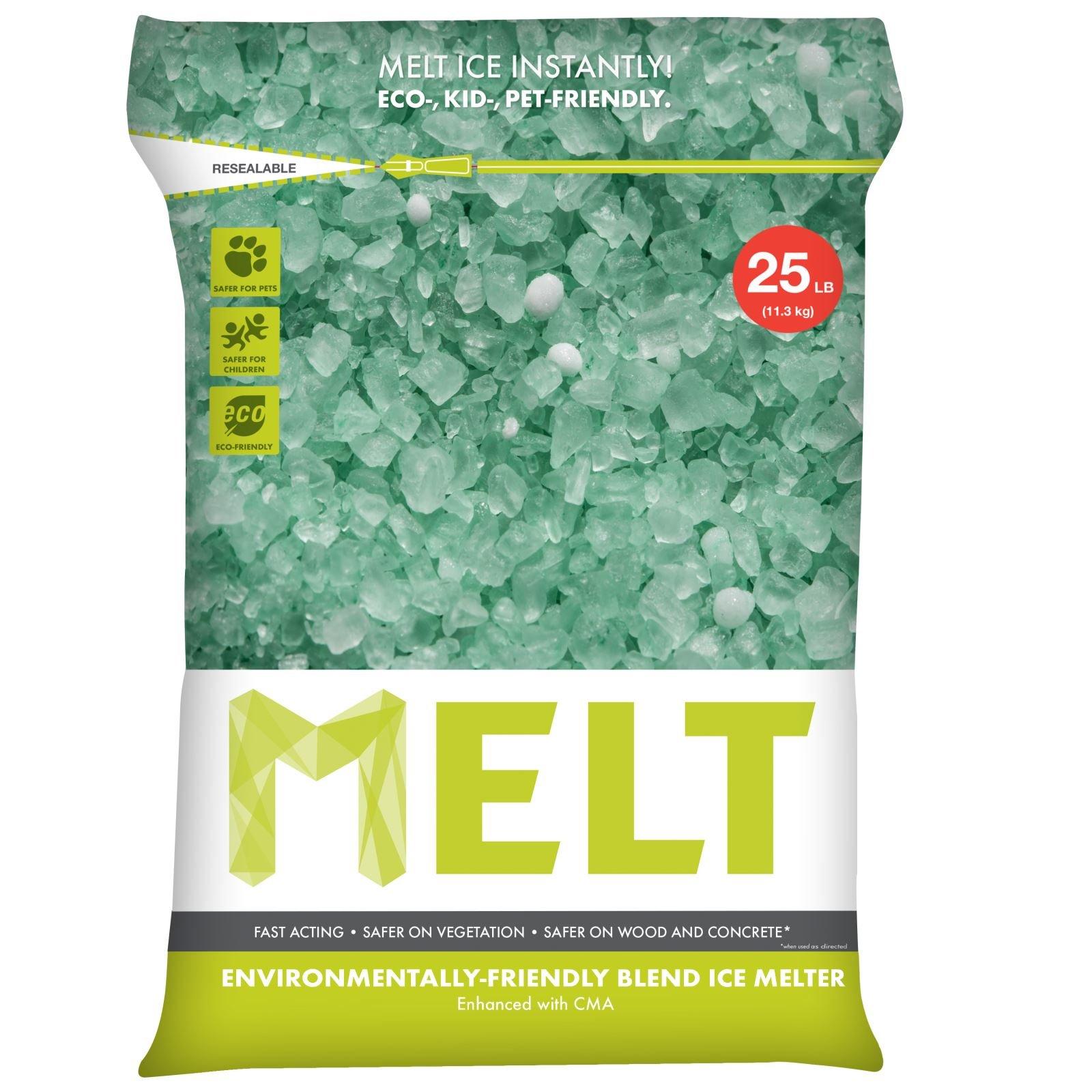 Snow Joe MELT25EB MELT 25 Lb. Resealable Bag Premium Environmentally-Friendly Blend Ice Melter w/CMA product image