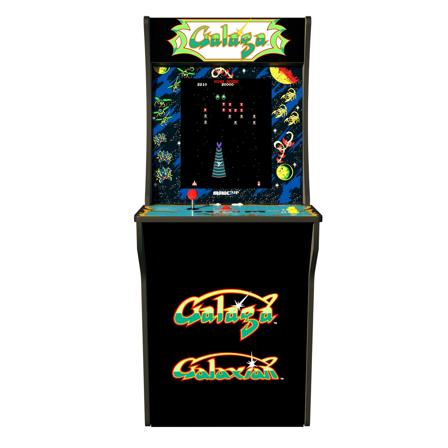 Arcade 1Up Galaga Deluxe Arcade System with Riser, 5 feet by Arcade1Up (Image #3)