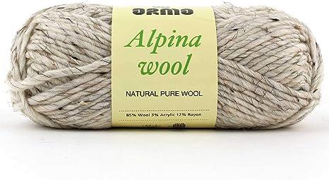 Pack de 4 ovillos de lana Alpina (madejas) – (5) voluminosos – 3oz – para crochet, tejer y manualidades: Amazon.es: Juguetes y juegos
