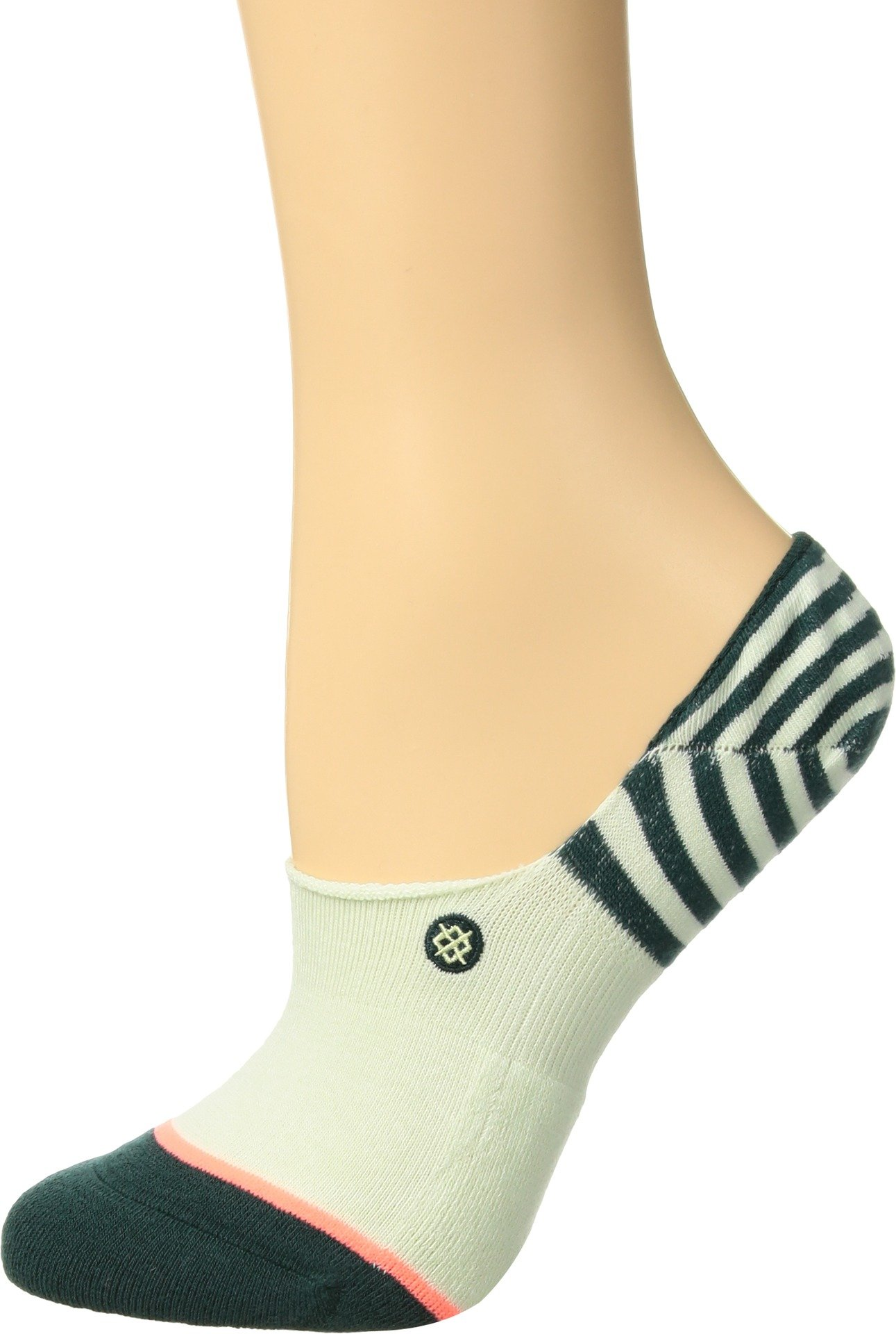 Stance Women's Uncommon Invisible Liner Socks (1 and 3 Packs), Green, Medium