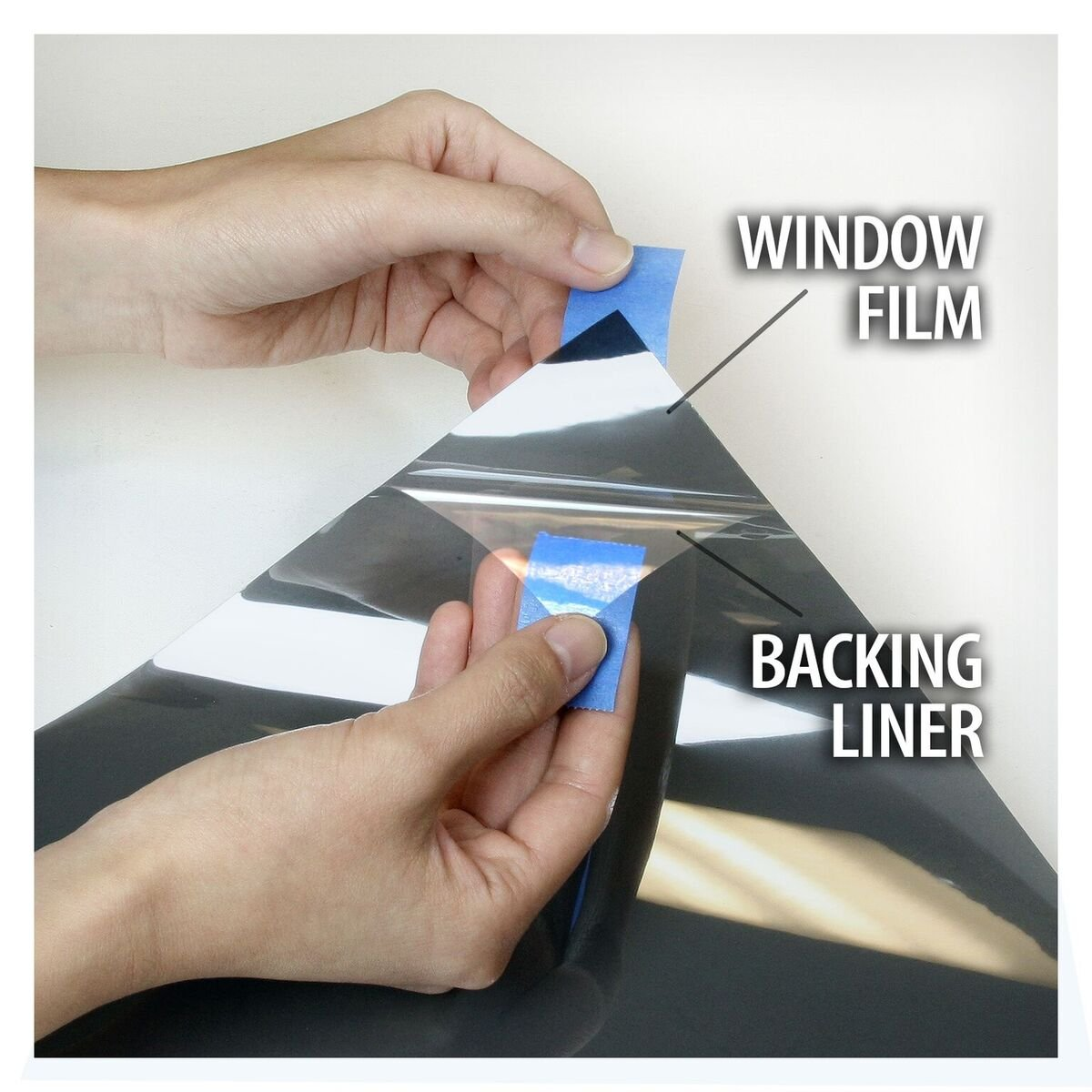 BDF NC20 Window Film Premium High Performance Heat Control Nichrome 20, Medium Dark (48in X 50ft) by Buydecorativefilm (Image #6)