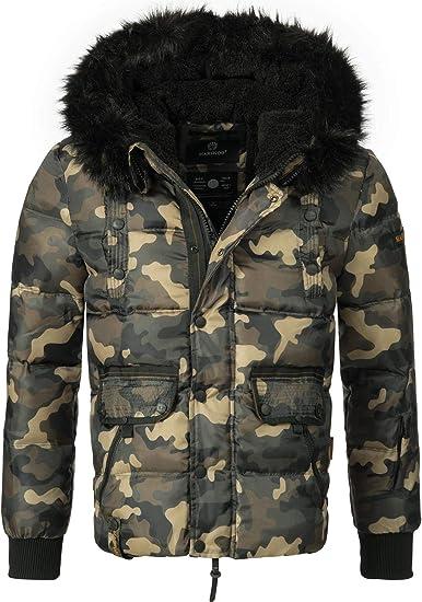 Herren Steppjacke camouflage