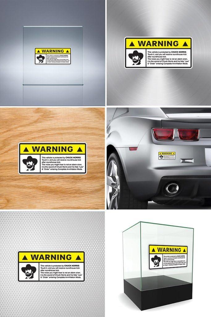 Chuck Norris Vinyl Decal Sticker For Trucks Cars Windows D Laptops.