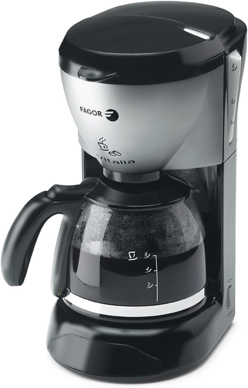 Fagor CG-406, Negro, Acero inoxidable, 750 W - Máquina de café ...