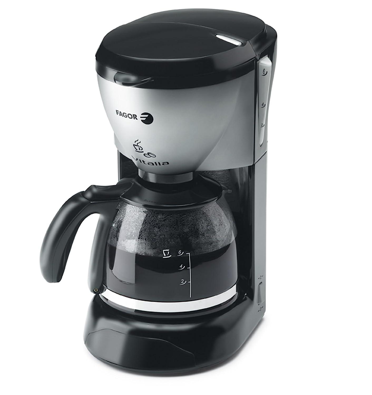 Fagor CG-406, Negro, Acero inoxidable, 750 W - Máquina de café
