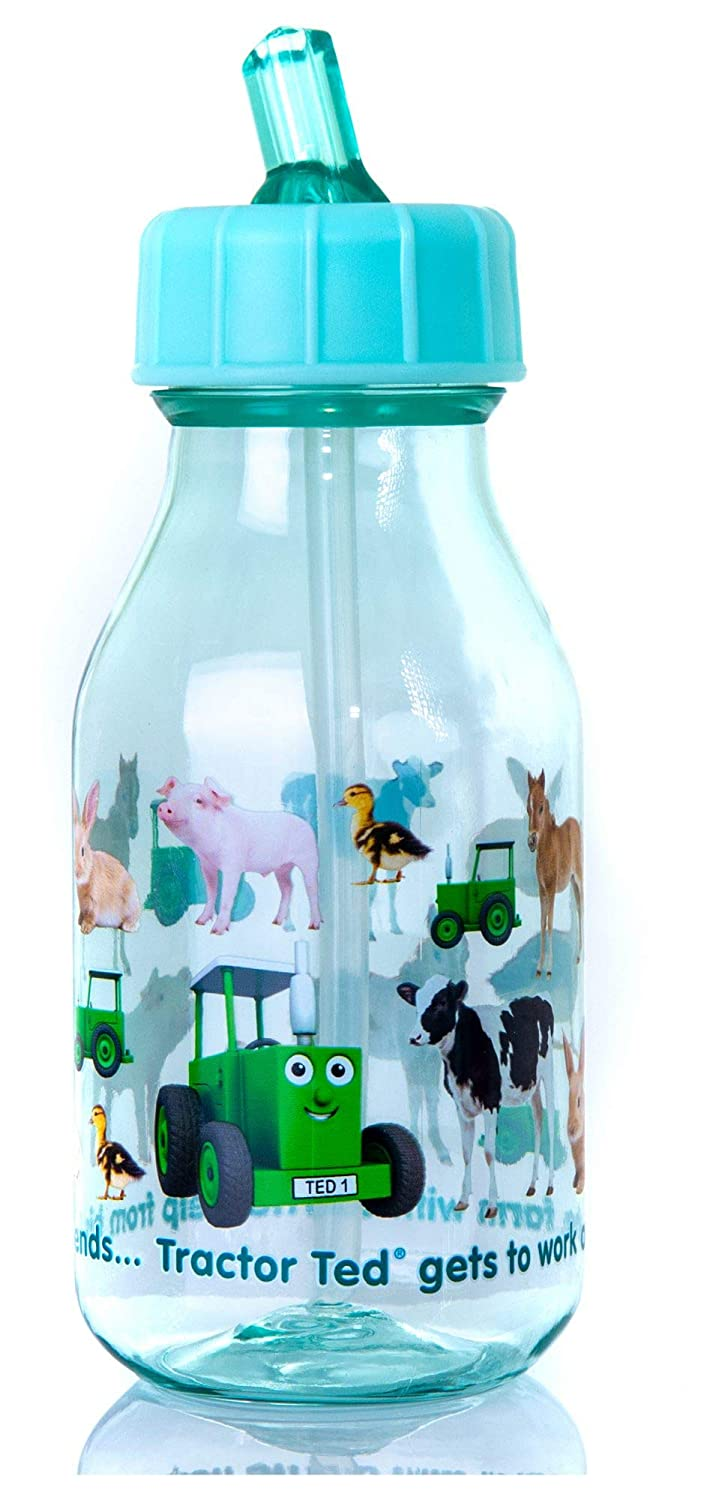 Tractor Ted Water Bottle, Baby Animals