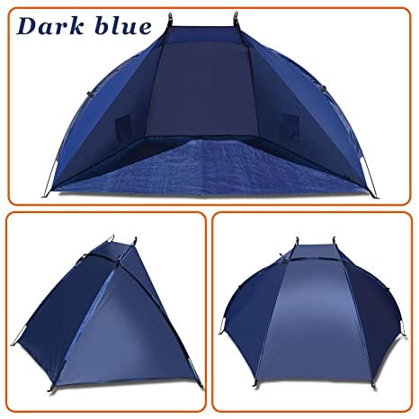be09767f1a50 Strong Camel Outdoor Fishing Beach Tent Canopy Camping Hiking Picnic  Sunshade Shelter Sport Sun Shelter (