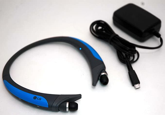 ea5336c0552 LG Tone Active HBS-850 Bluetooth Headset (R1116428302) Black/Blue -  Refurbished