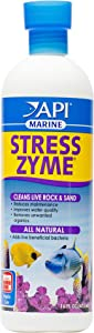 API Stress Zyme Bacterial Cleaner, Freshwater and Saltwater Aquarium Water Cleaning Solution