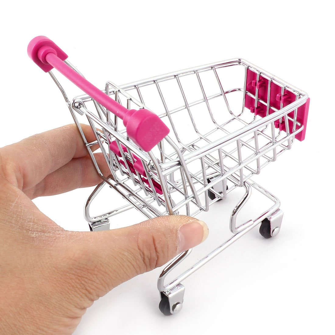 Haushalt Desktop Metall Mini Einkaufen Handwagen Vorratsbehälter ...