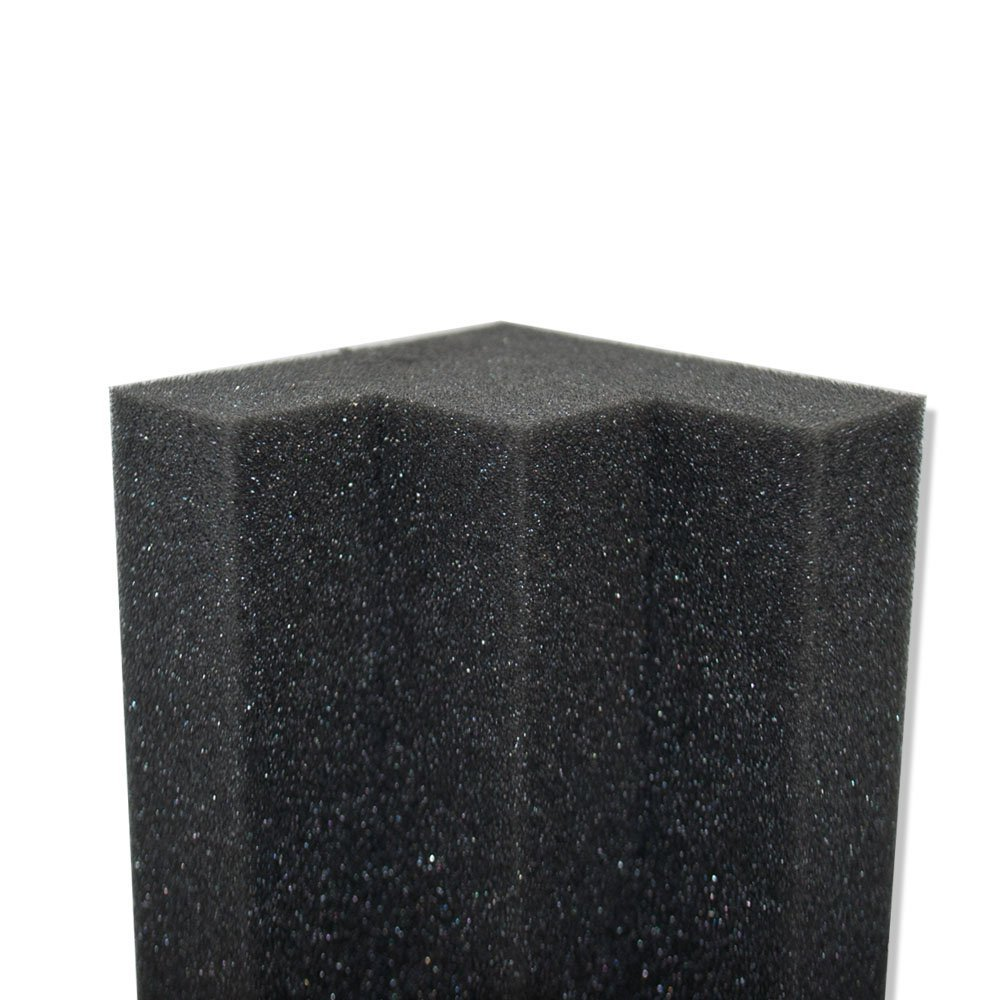 XL Column Acoustic Wedge Studio Foam Corner Block Finish Corner Wall in Studios or Home Theater (12 Pack) by Foamily (Image #2)