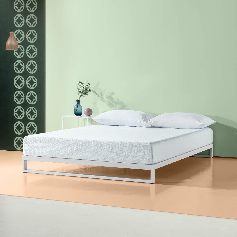 Zinus 8 Inch Gel-Infused Green Tea Memory Foam Mattress, Full