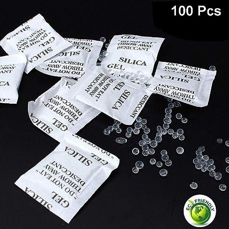 KeCool No tóxico Gel de sílice desecante Bolsas - 100 ...