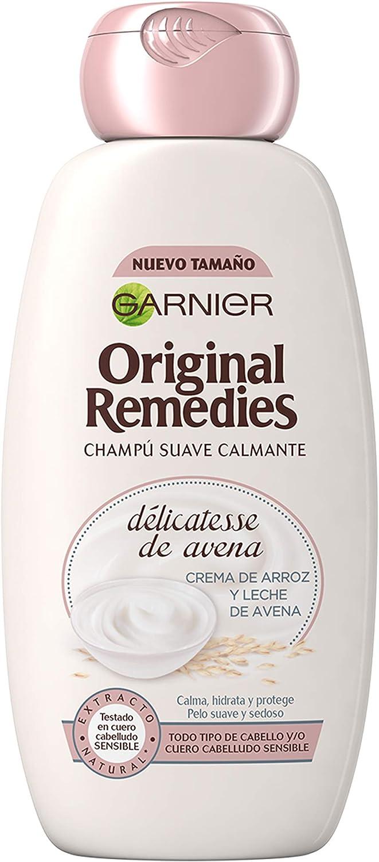 Garnier Original Remedies Delicatesse de Avena champú cuero cabelludo sensible
