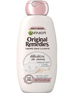 Garnier Original Remedies Pack de 2 Champús Sólidos - Délicatesse de Avena para cabello delicado (XES05060): Amazon.es: Belleza
