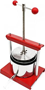 Torchietto Johannes premitutto Juicing Aluminum and Stainless Steel 3 L Palumbo