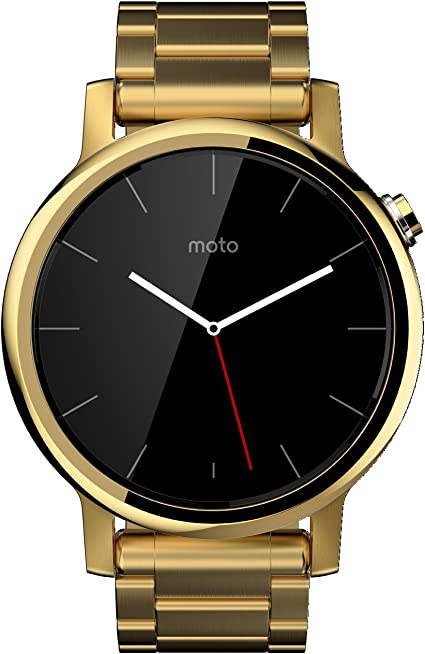 Motorola Moto 360 (2nd Gen.) - Mens 42mm, Gold with Gold Metal