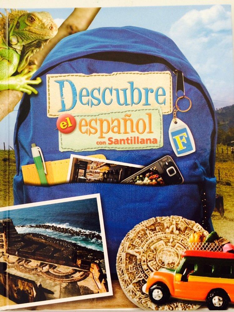 Download Descubre el español con Santillana Student Textbook Level F pdf