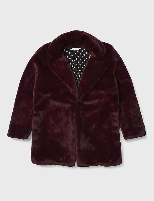 ASTR the label womens Shaggy Faux Fur Short Jacket Faux-Fur Coat