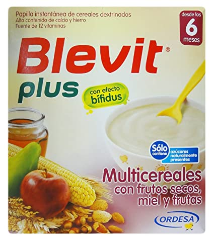 BLEVIT PLUS MULTICERE FRUTOS SECOS 600GR